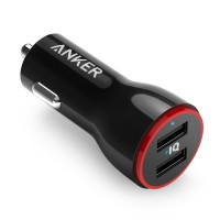 Anker PowerDrive 2 Dual Port Car Charger - Black [A2310H11]