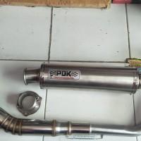 knalpot pdk vixion bonus adaptor