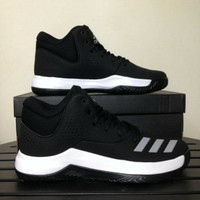 Sepatu Basket Adidas Court Fury 2017 Black BY4188 Original BNIB