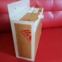 kotak saran + tempat brosur