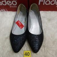 Sz 40 Flatshoes Cantiq cewek Branded merk Fladeo