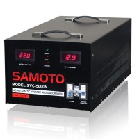 STABILIZER VOLTAGE DIGITAL / AVR LISTRIK SAMOTO 5000VA