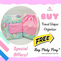 Hot Promo!!! Buy 1 get 1 - Travel Diaper Organizer By Momoty