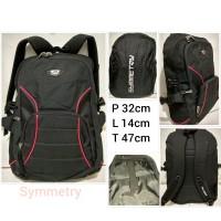 Tas Ransel Laptop Pria/Wanita/ Backpack SM ada raincoat