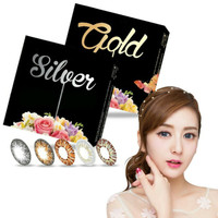 Softlens X2 Ice silver n gold