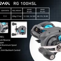 Reel Baitcasting Daiwa RG 100 HSL