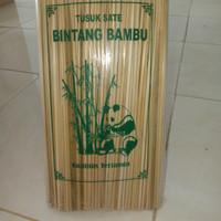 tusuk sate bintang bambu