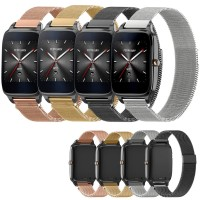 Stainless Milanese Loop Strap Band for ASUS Zenwatch 2 W1501Q 22mm