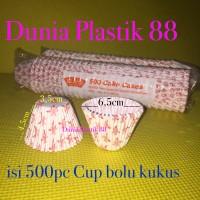 500PC paper baking CUP cetakan kertas klassi cake cases kue BOLU KUKUS