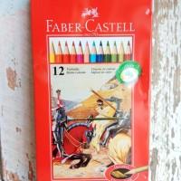 Pencils Colour/Pensil Warna Faber 12 Panjang Tin Case/Kaleng Classic