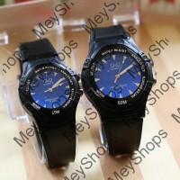 jam tangan couple QnQ wanita / jtr 1152 biru