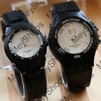 jam tangan couple QnQ pria / jtr 1152 putih