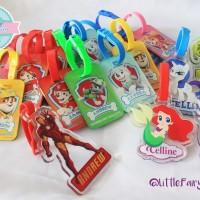 Custom Bagtag acrylic / gantungan tas / luggage / tali koper / bag tag