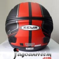 ZEUS Helm ZS610 Pattern ZS 610 Import ZS 610 Double Visor New