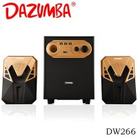 Dazumba DW266 Bluetooth Speaker 2.1 - Gold [FS]