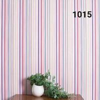 Garis pink kombinasi 45 cm x 10 mtr ~ Wallpaper dinding sticker