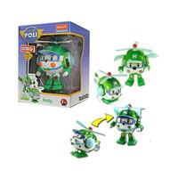 mainan Anak Laki-laki Robocar poli Heli Satuan