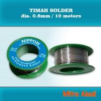 Timah Solder Diameter 0,8 mm Panjang 10 meter