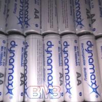 Dynamax AA 1000mAh Batre 1.2v Baterai Charge Cas Rechargeable Ni-MH