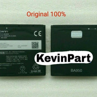 Baterai Battery Sony BA950 for Xperia ZR Original 100%