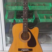jual gitar akustik elektrik yamaha 370 suara berkualitas harga murah