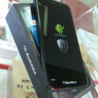 Blackberry Aurora New Garansi resmi indonesia 1 tahun