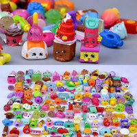 SHOPKINS PAKET 10 PCS /MAINAN FIGURE/PENCIL TOPPER/SHOPKINS SHOPIES