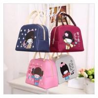 girls lunch bag karakter disney cooler tas lunch bag tas bekal lucu
