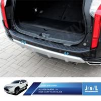 All New Pajero Sport Sillplate Belakang Hitam / Rear Scuff Plate Black
