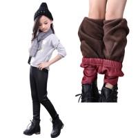 Celana hangat kulit anak/winter long john thermal legging baby kids SN