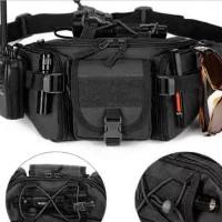 Tas slempang selempang gadget army tactical hp pouch (smarphone)