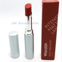 Wardah Lipstik INTENSE MATTE 05 Easy Brownie