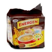 ENERGEN CEREAL COKLAT 10'S