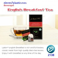 Tea Lipton English Breakfast - Teh Kemasan