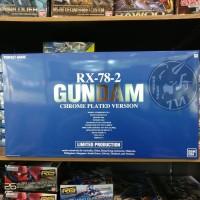 PG 1/60 Rx-78-2 Gundam [Chrome Plated Ver.]