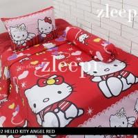 Sprei 160x200 dan Bedcover Hello Kitty