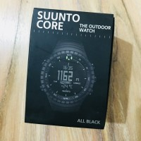 Suunto Core All Black Military Jam Tangan Outdoor Watch 100% Original