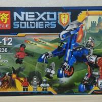 Lego Lele 79236 Nexo Knights Lance's Mecha Horse Isi : 249 Pcs