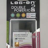 Batre Sony BA950/Xperia ZR/Baterai Double Power/Battery Log On 2 IC