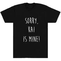 Kaos / tshirt / baju Exo Kai hitam