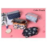 Tas Kosmetik Cube Pouch Import Tahan Air - CP-02