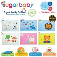 PERLAK BAYI ALAS OMPOL WATERPROOF ORGANIC merk SUGAR BABY