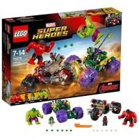 LEGO Marvel Super Heroes-76078 Hulk vs Red Hulk Set The Avengers Movie