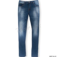 BPUM05-Celana Jeans Skinny Big Size / Ukuran Jumbo Pria Model Pensil