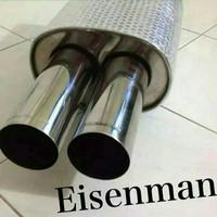Knalpot Eisenmann Replika Full Stanlise Steel Untuk BMW (All Series)