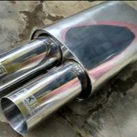 Knalpot HKS Sebring Full Stanlise Steel Untuk BMW (All Series)