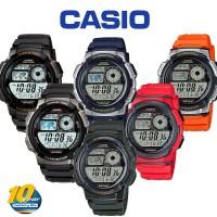 CASIO AE 1200 W Original Jam Tangan Pria AE-1200 Rubber AE-1200-W