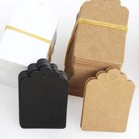 HANGTAG bintang tag label merk baju brand tas produk samson karton new - Cokelat