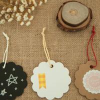 hangtag bulat oval tag label merk baju brand samson craft tambang sale