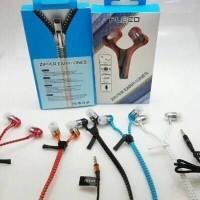 Headset Zipper FLECO Super Bass Resleting Earphone Universal